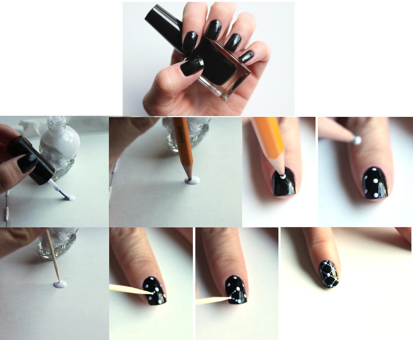 Как оригинально покрасить ногти