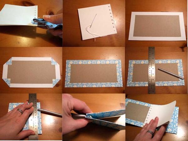 Книжка из бумаги своими руками фото поэтапно