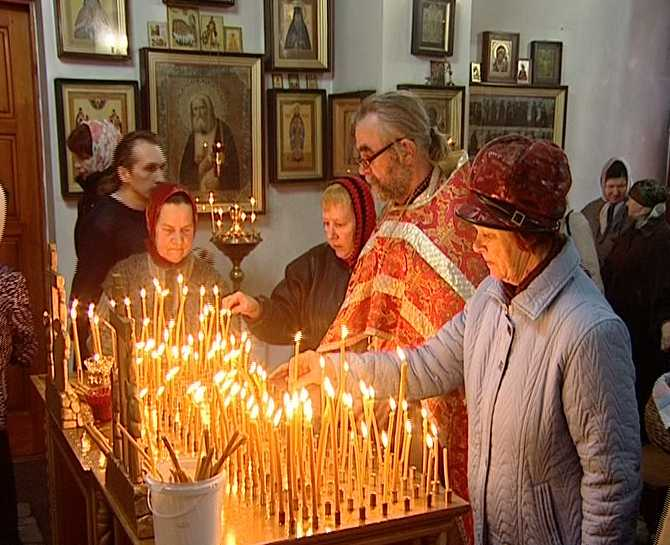 Не забывайте ставить свечу за умершего