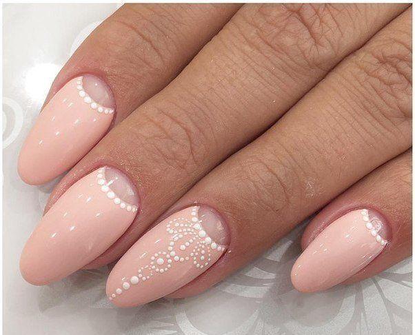 Дизайн овальных ногтей 2017 фото