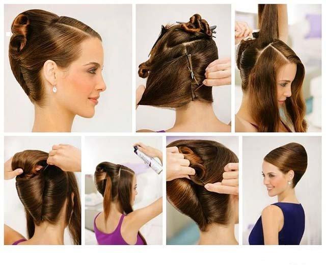 Пошаговая Инструкция Как Сделать Ракушку Из Волос - фото 2