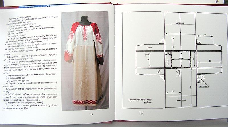 Выкройки платьев в славянском стиле