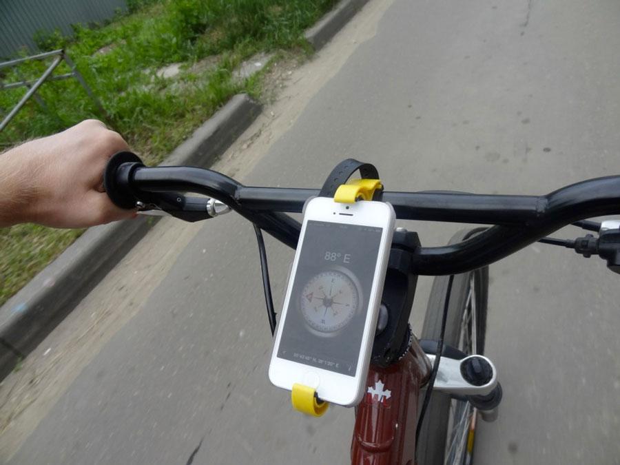 Держатели для телефонов на велосипед своими руками