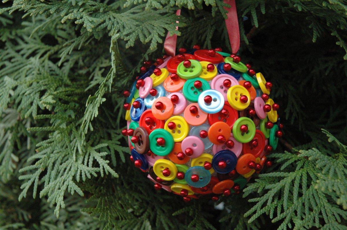 Новогодняя игрушка своими руками на елку фото