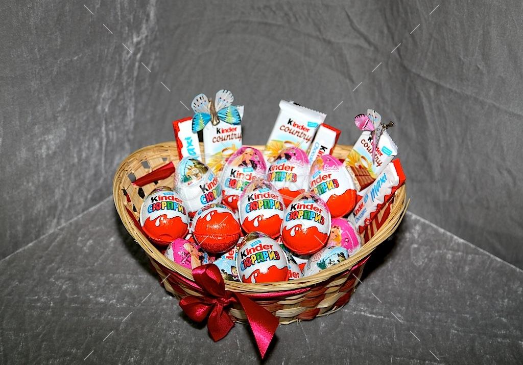 Подарки из киндеров сюрпризом своими руками