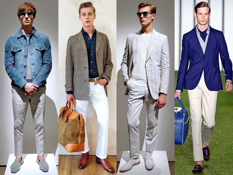 Модная одежда весна лето мужская