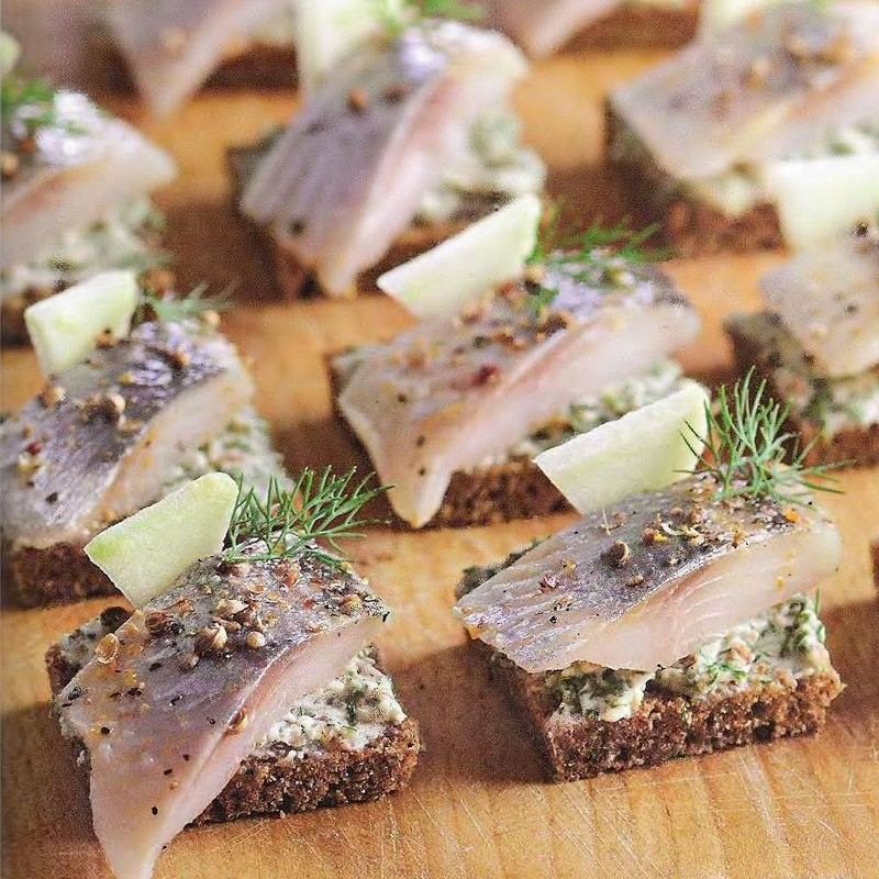 Бутерброды с черным хлебом рецепты простые и вкусные