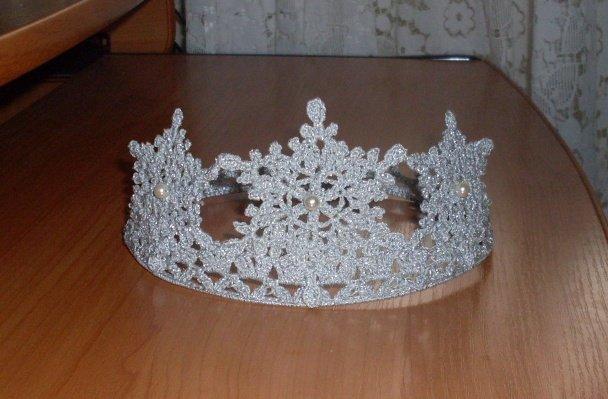 Корона для снежинки своими руками мастер класс 65