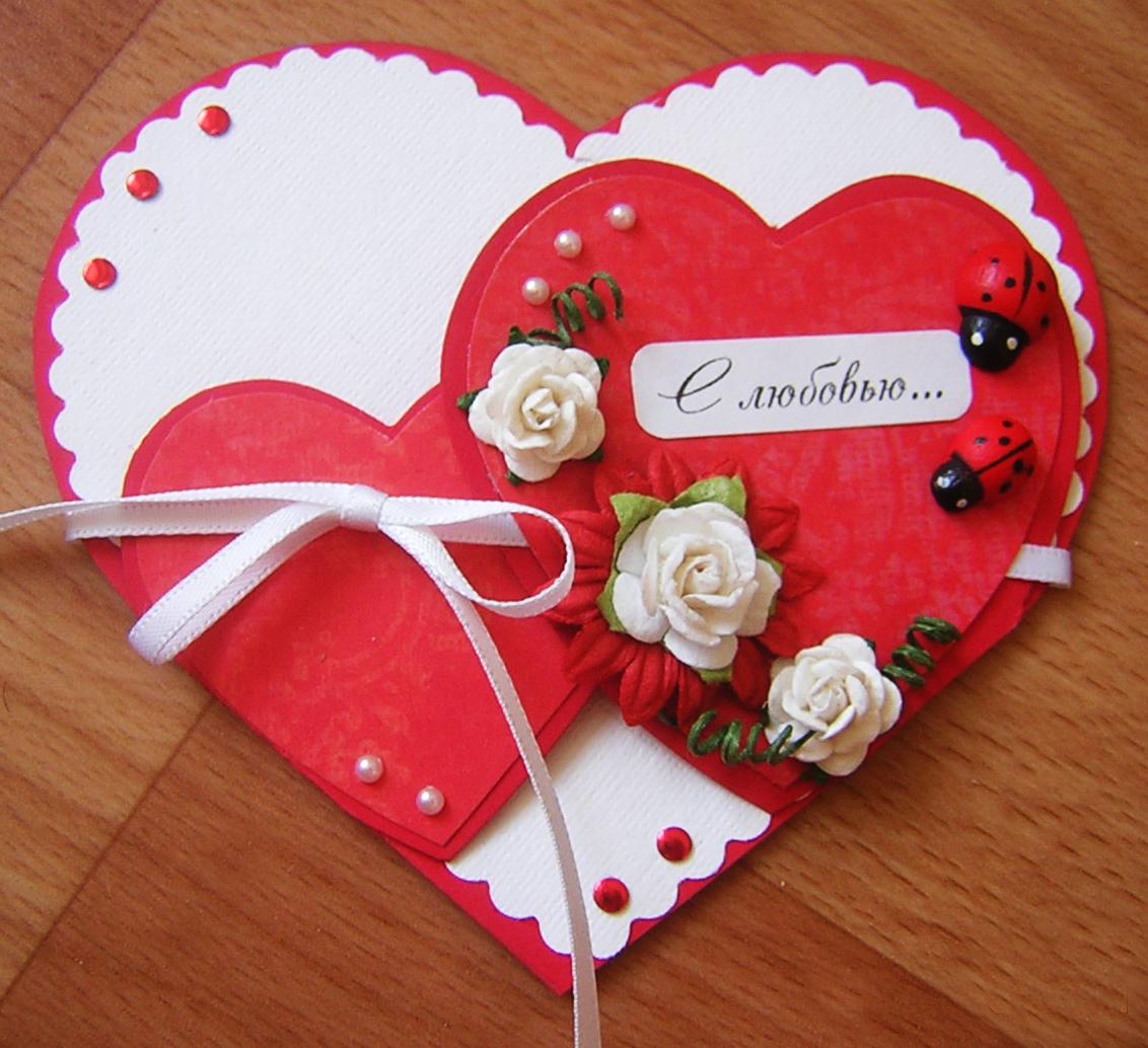 Подарки до дня святого валентина своими руками