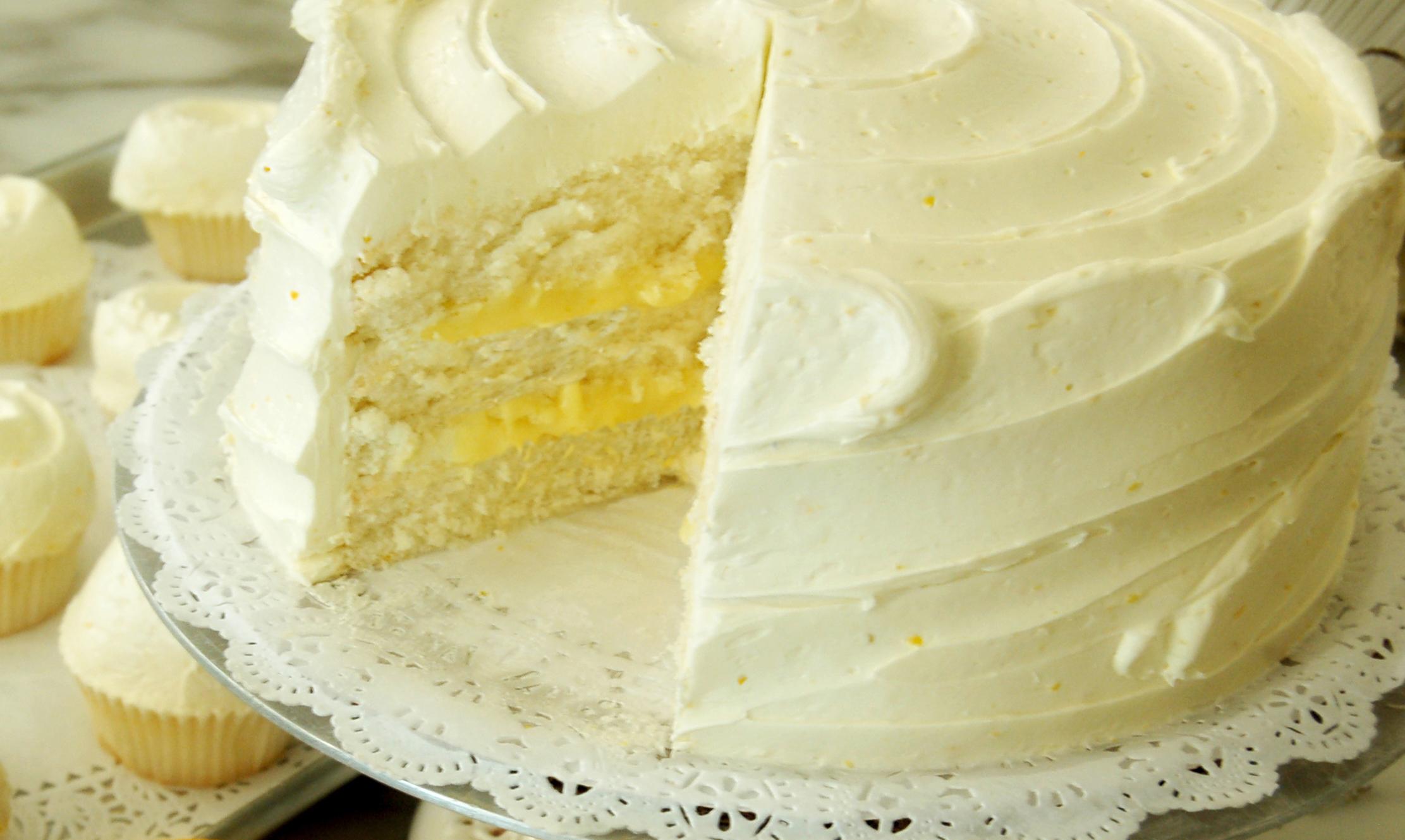Торт Птичье молоко с манкой и лимоном (пошаговый) 62