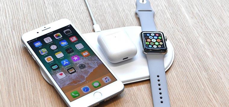Айфон 8 - беспроводная зарядка