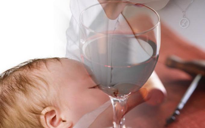 Алкоголь и кормление грудничка