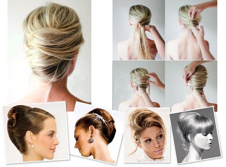 Как сделать из волос улитку
