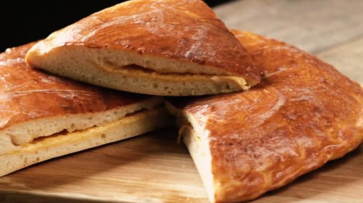 Вкусная базлама с сыром