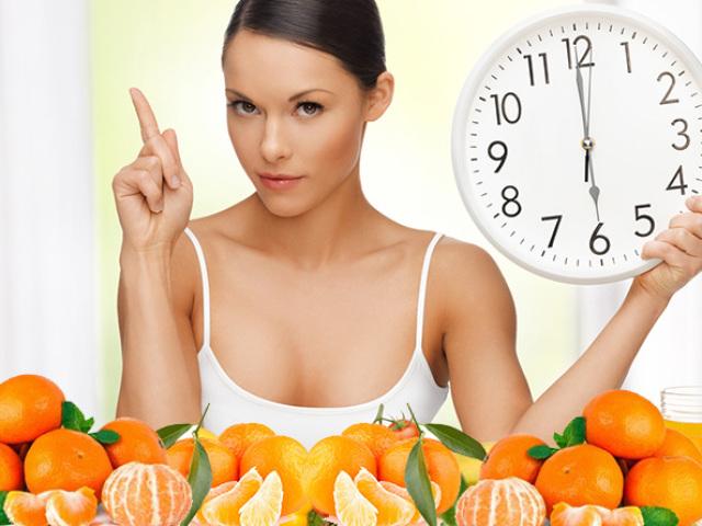 мандарины можно есть на ночь при диете