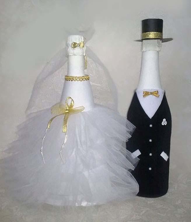 Фото на шампанское на свадьбу своими руками