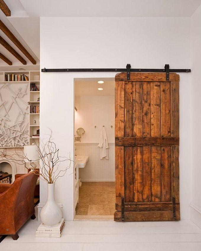 Как обновить дверь своими руками в ванной 36