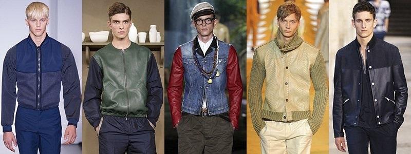 Стильные образы для повседневной молодежной мужской уличной моды 2018-2019 года на весну, осень в куртках