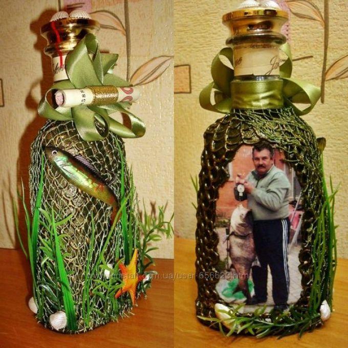 Бутылки поделки для мужчин