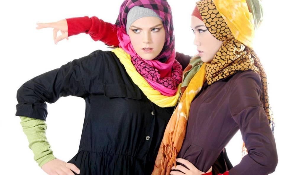 Как красиво завязать шарф-платок на голове?
