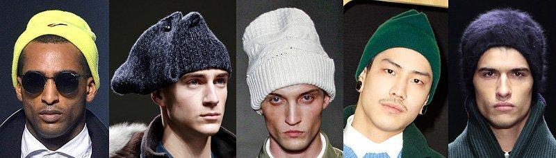 Стильные образы для повседневной уличной моды 2018-2019 года для мужчин на весну, осень в шапках