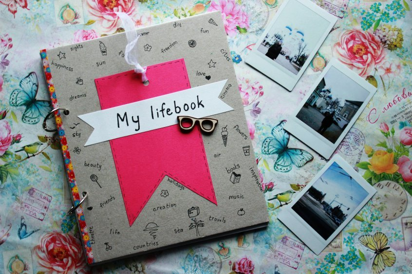 Как делать дневники своими руками