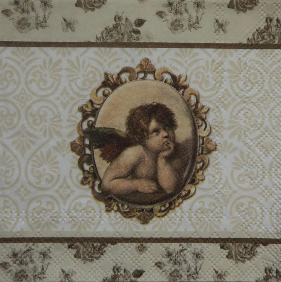 Вот такие салфетки можно использовать для декупажа мебели в викторианском стиле