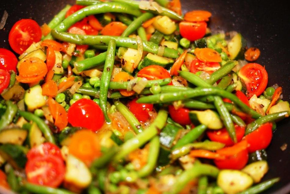Как жарить замороженные овощи?