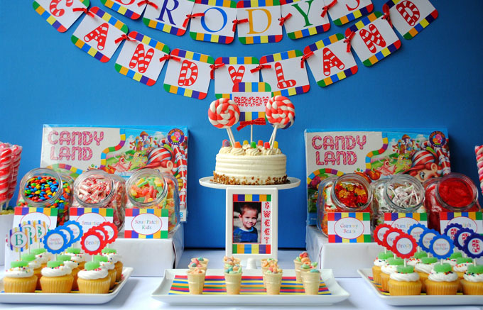 Сладкий стол день рождения своими руками