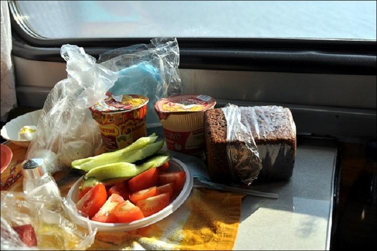 Что взять с собой в дорогуы блюд