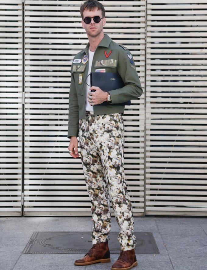 Уличная мужская мода парижа 2018-2019 года