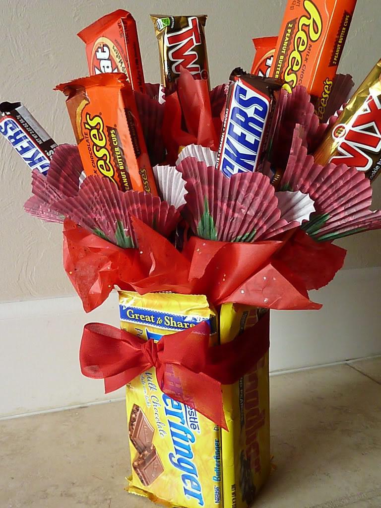 Подарки из сладостей парню 833