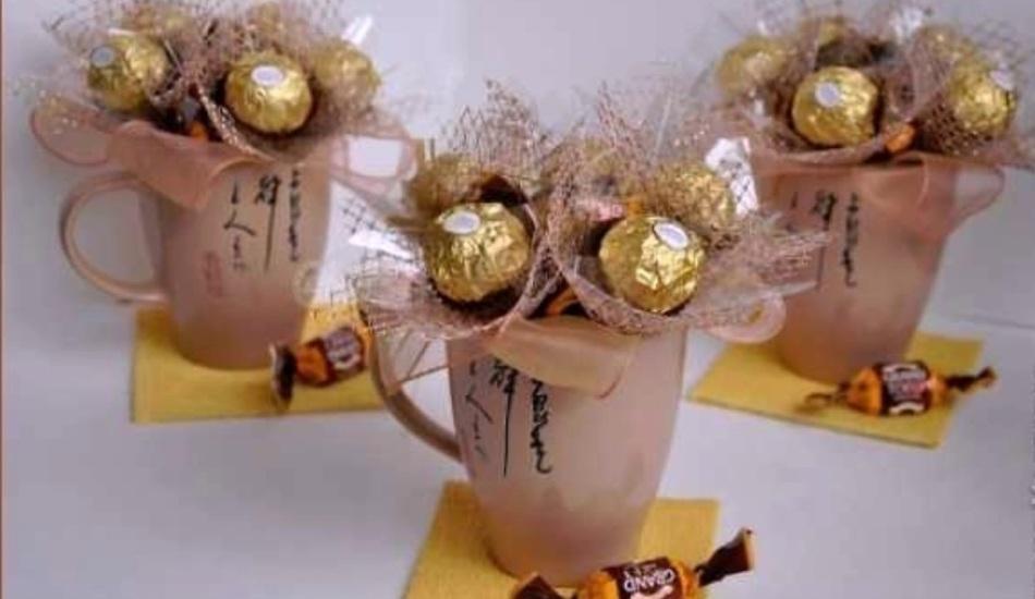 Подарки на день рождения сестре своими руками из конфет 73
