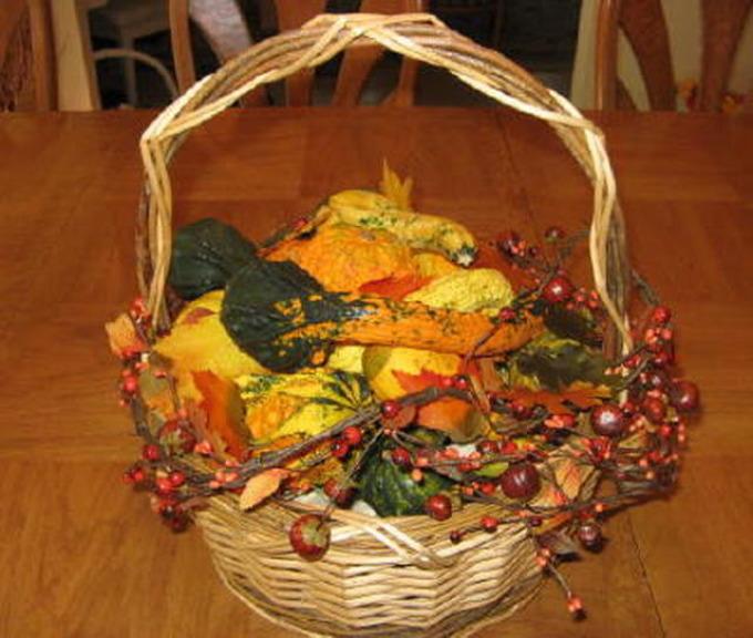 Сделать икебану своими руками осень 85
