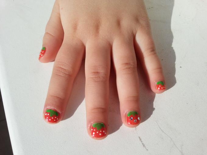 Детский маникюр на короткие ногти. Маникюр для детей от 7 до 12