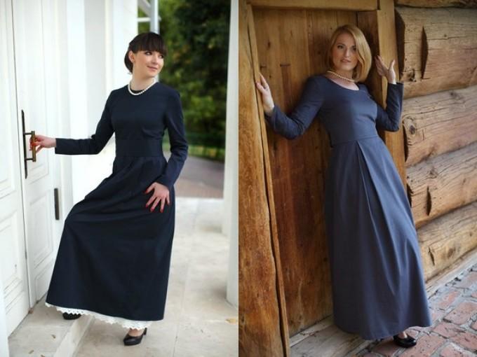 Какой длины должна быть юбка для крестин