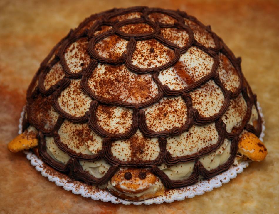 Рецепт торта черепахи классический