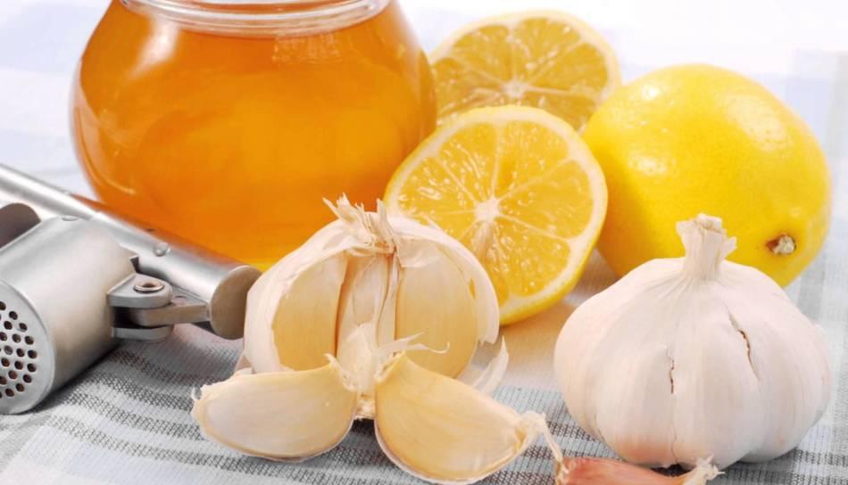 Польза лимона с чесноком