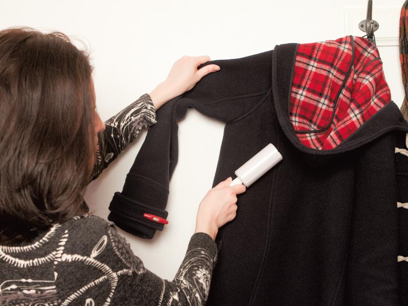 Как очистить верхнюю одежду