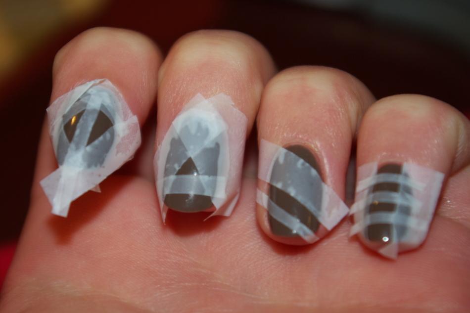 Как накрасить ногти картинки
