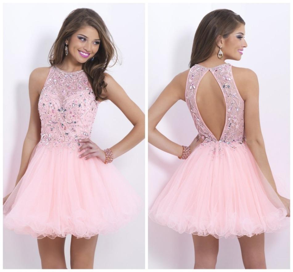 Розовые платья на выпускной
