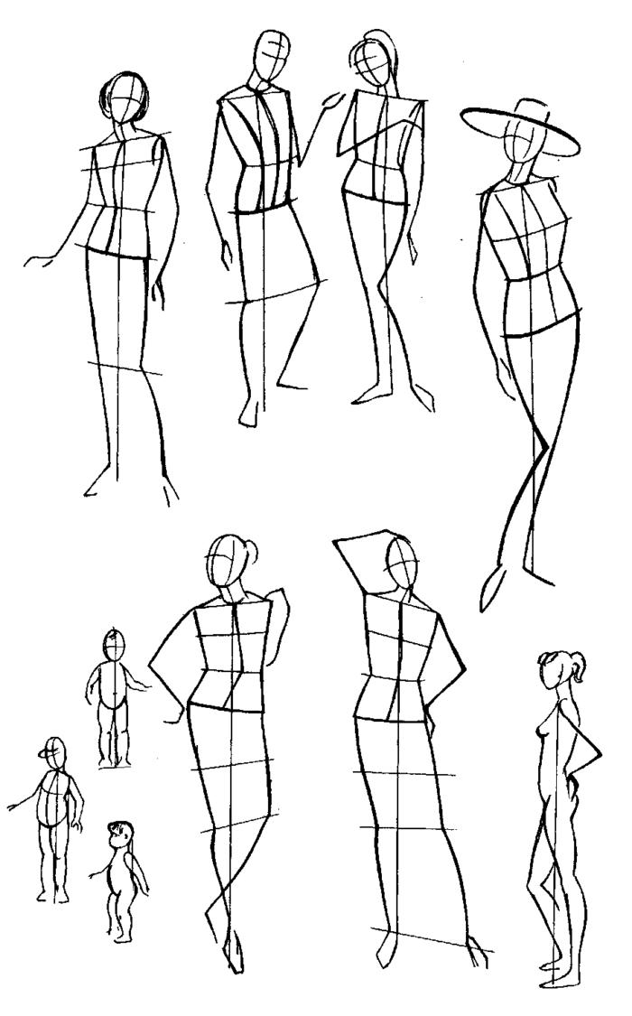 Рисунки мужчины в женском