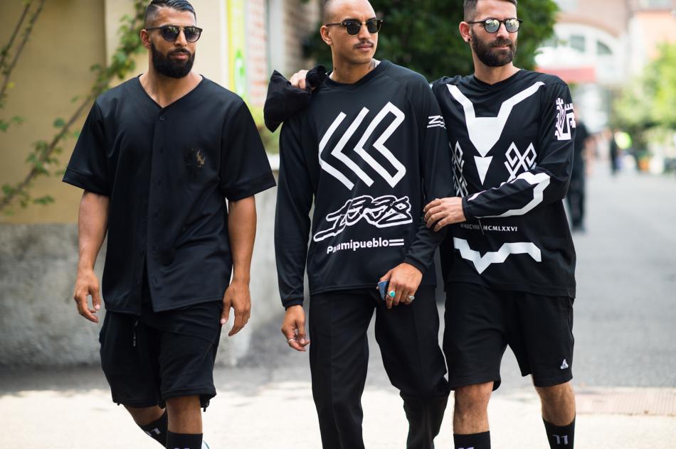 Стильные образы для повседневной уличной моды 2018-2019 года на весну, осень для полных парней