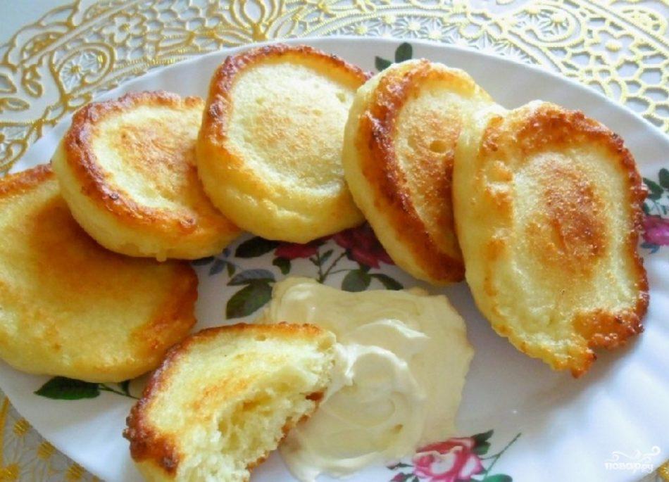 Оладья из кефира рецепт с пошагово