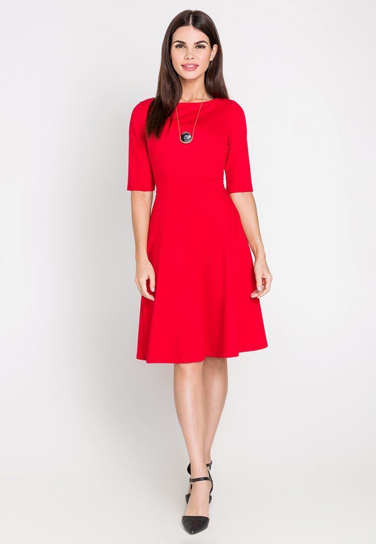 Ламода платья красное