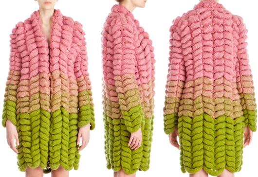 Как по схеме связать модный шарф. Различные виды шарфов ...