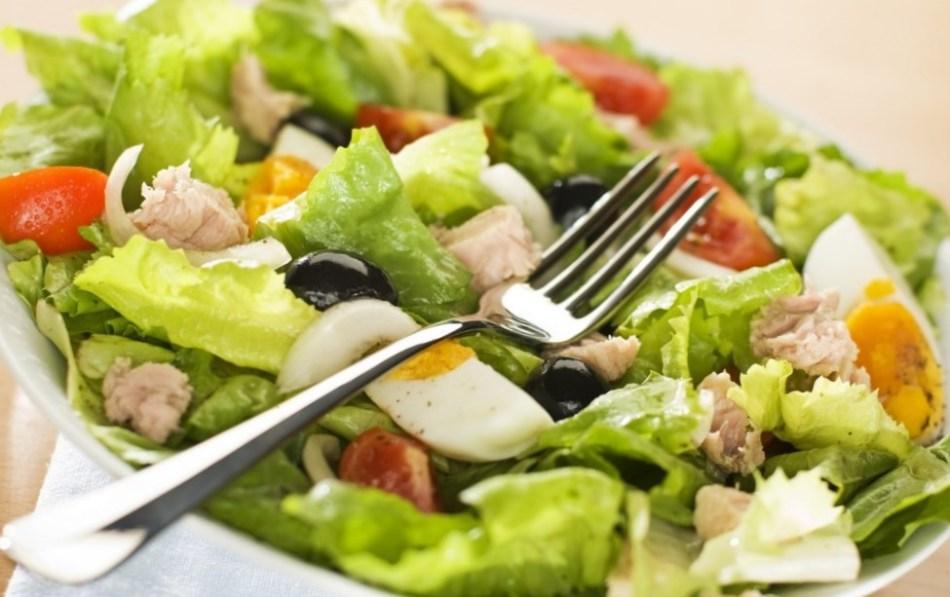 салат с листями фрисе рецепт