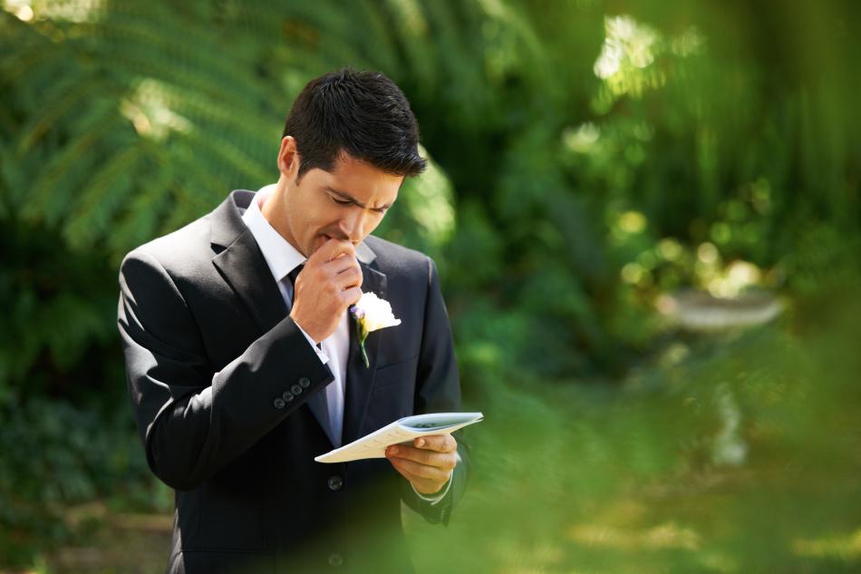 Слова благодарности родителям на свадьбе от сына