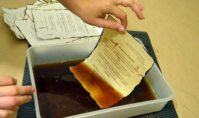 Бумага своими руками рецепты