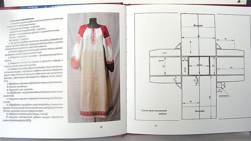 Славянская одежда с выкройками